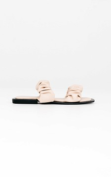 Flip Flop Marieke - Slip-on sandals with square noses