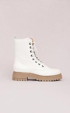 Boots Femke - Leren boots met veters
