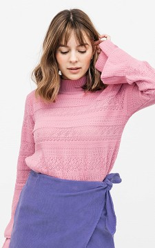 Sweater Leander - Sweater with ruffles