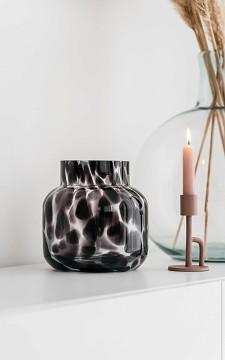 Vase Denise - Panther patterned vase