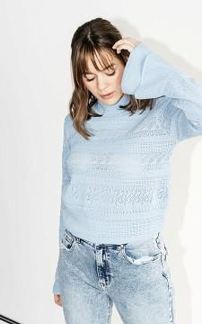 Pullover Leander - Romantischer Pullover mit Volant