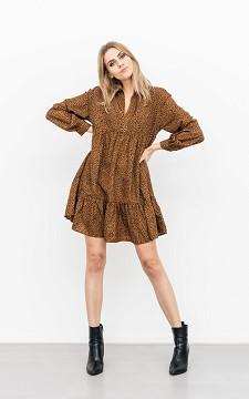 Kleid Klaas - Minikleid mit Leoparden-Print