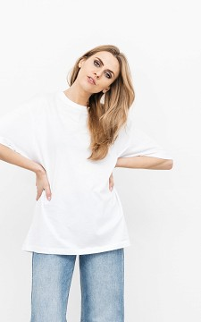 Shirt Jolanda - Oversized shirt met tekst