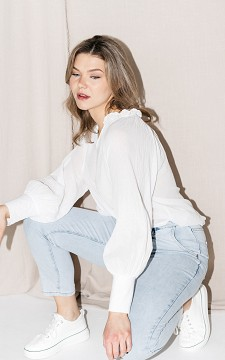 Jeans Carolien - High waist paperbag jeans