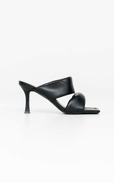 Heels Jamie - Square-nosed heels
