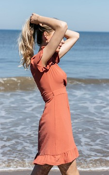 Dress Maartje - Wrap-around style dress