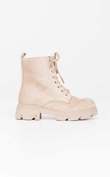 Boots Kevin - Suède look boots met veters