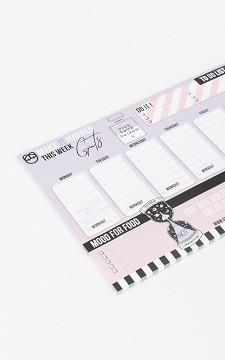 Planner Kenji - Weekly planner