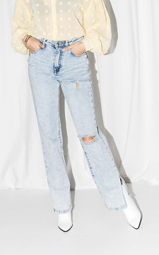 Jeans Joke - High-waist, straight fitting jeans