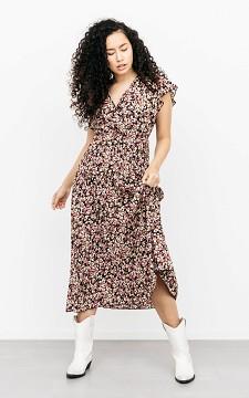 Kleid Amara - Plissee-Kleid mit floralem Muster