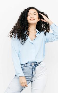 Bluse Jazzlynn - Lockere Bluse mit V-Ausschnitt