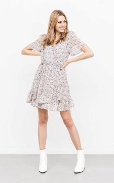 Jurk Owen - V-hals jurk met bloemenprint