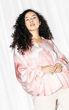Bluse Lynn - Oversized Batik-Bluse