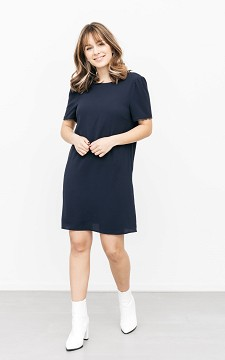 Dress Luvia - Dress with lace details