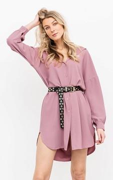Dress Jorik - Basic blouse dress with buttons
