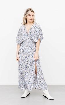Dress Otris - Floral patterned, maxi dress