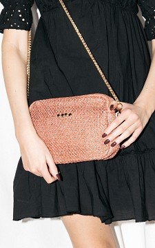 Bag Leona - Bag with gold-plated details