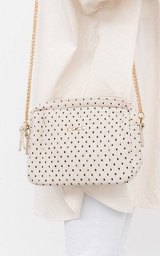 Bag Shaelle - Bag with gold-plated details