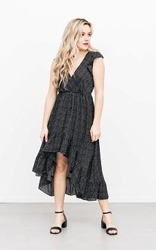 Jurk Jorien - Maxi jurk met de voorkant korter