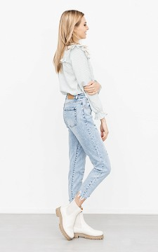 Jeans Michelle - Relaxed fitting jeans with pockets