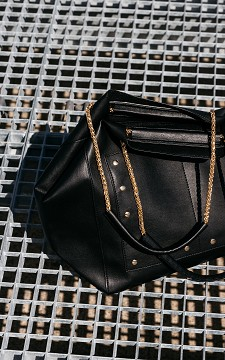 Bag Shirley - Bag with gold-coated details