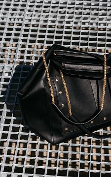 Tas Shirley - Tas met goudkleurige details