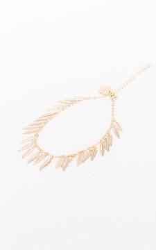 Ankle Bracelet Feather - Adjustable anklet