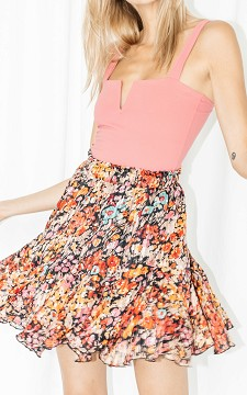 Skirt Micky - Floral patterned skirt