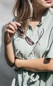 Neck Cord Elia - Gold-coated (sun)glasses cord