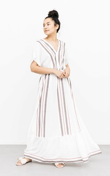 Dress Maddy - Patterned maxi dress