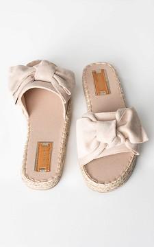 Flip Flop Danique - Slip-on sandals with woven soles