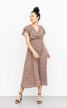Dress Joran - Patterned maxi dress