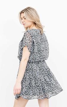 Kleid Amera - Blümchenkleid mit Keyhole-Verschluss