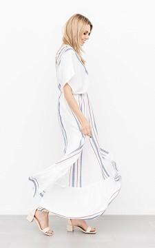 Kleid Maddy - Maxikleid mit V-Ausschnitt