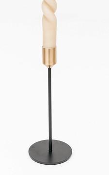 Candle Holder Jenna - Black and gold candleholder