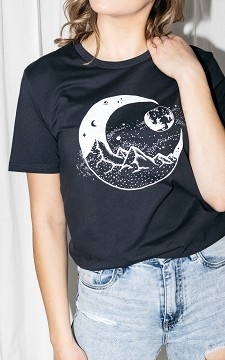 Shirt Moon - T-shirt with front design