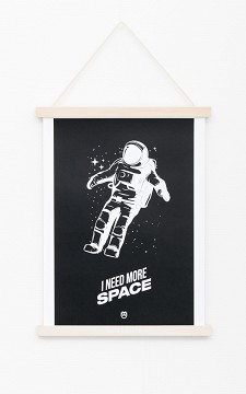 Poster Space - Poster with a white edge