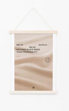 Poster Slay - Cooles Poster mit weißem Rand