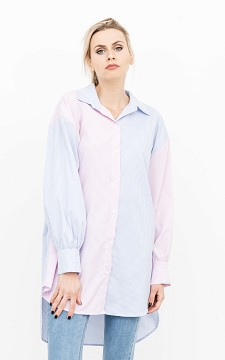 Blouse Frenna - Dress with buttons down the front