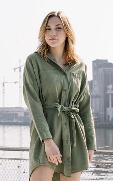 Dress Huub - Basic dress with buttons