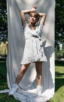 Kleid Philippa - Wickelkleid mit V-Ausschnitt