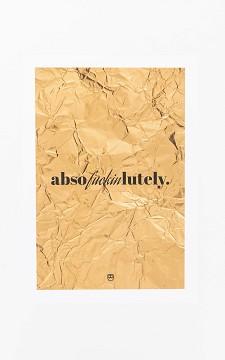 Poster Rosalie - Poster mit Text