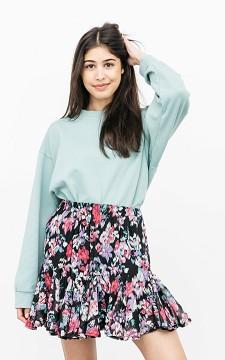 Skirt Verona - Patterned, glittery skirt