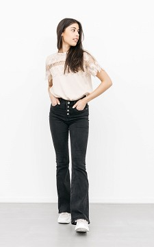 Jeans Lolieke - High-waist, flared jeans
