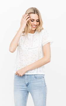 Top Madelief - Embroidered top