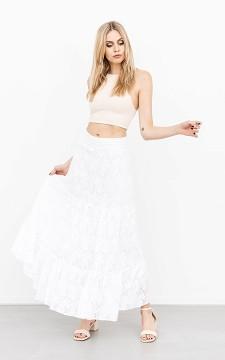 Rok Quin - Kanten rok met elastische taille