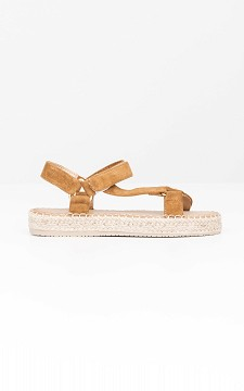 Sandal Stella - Sandals with woven soles