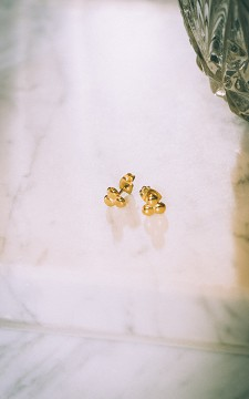 Ohrringe Bella - Niedliche Ohrstecker aus Edelstahl