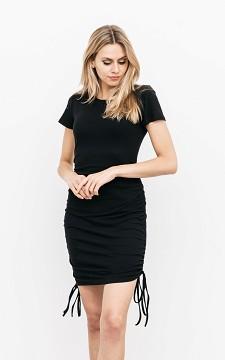Kleid Liza - Midi-Kleid mit Kordelzug
