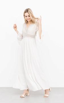 Kleid Iza - Elegantes Maxikleid mit Spitze